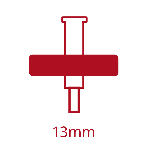 HemoCue 13mm Syringe filter