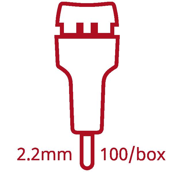 2.2mm lancets