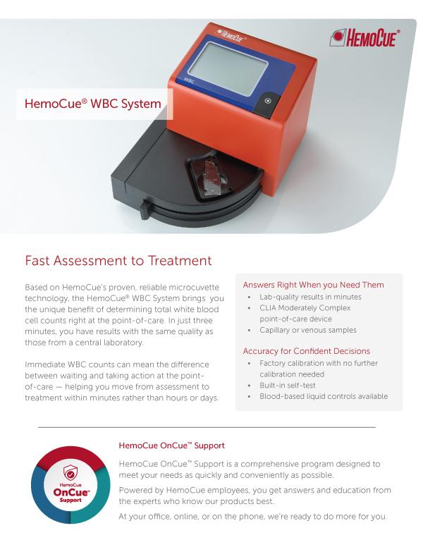 HemoCue WBC Product Brochure