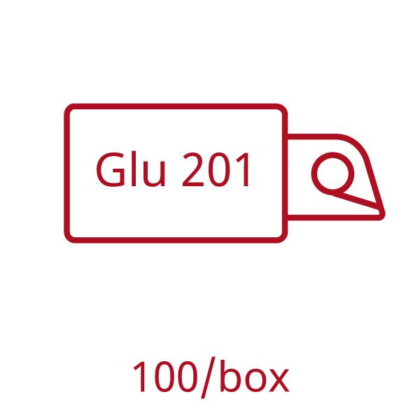 HemoCue Glucose 201 Analyzer microcuvettes box of 100