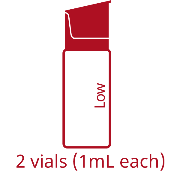EuroTrol AlbuTrol Low level control for HemoCue Albumin 201 System