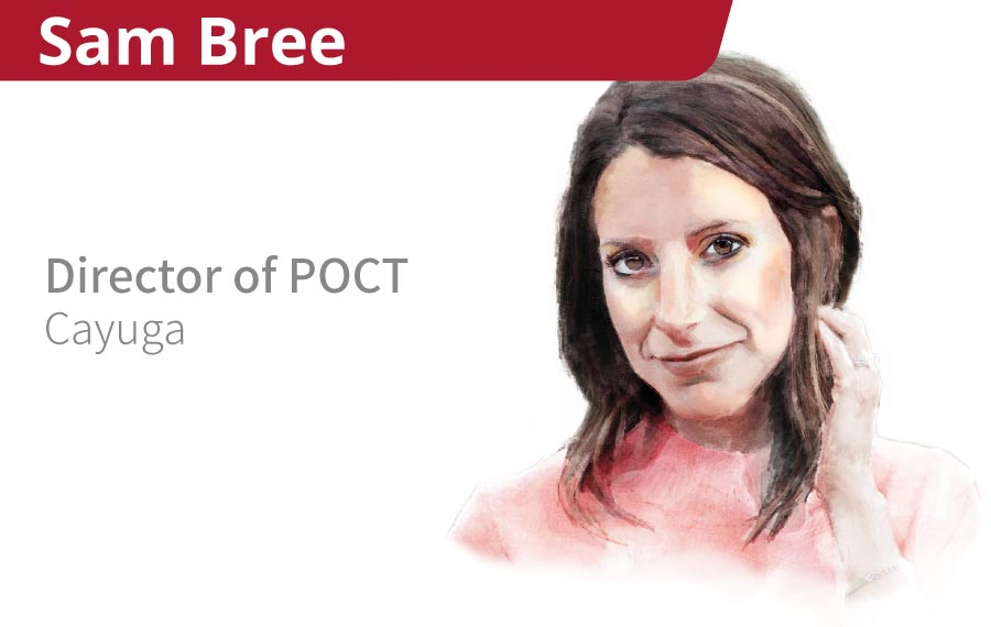 Point of Care Campaign Sam Bree